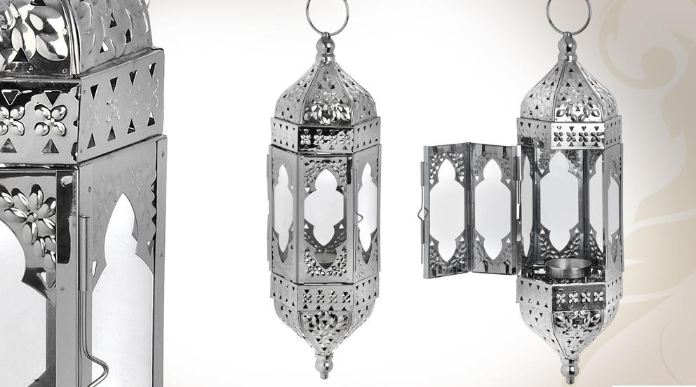 D couvrez le style marocain chic et moderne luminaire design for Lanterne japonaise de jardin pas cher